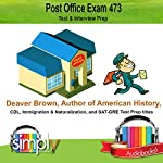 Post Office Exam 473: Test and Interview Prep | Deaver Brown