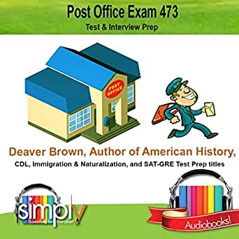 Amazon.com: Post Office Exam 473: Test and Interview Prep (Audible ...