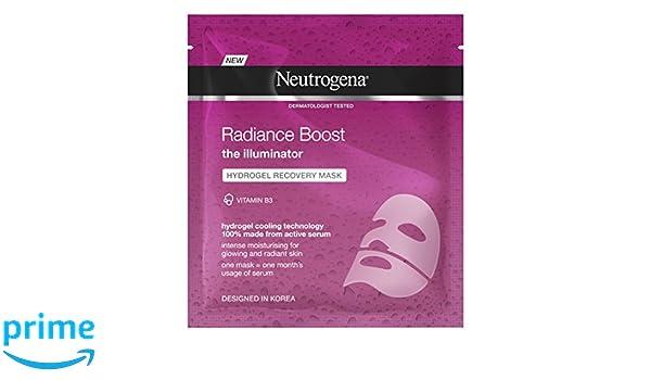 Neutrogena Radiance Boost hydrogel recuperación máscara, 30 ml: Amazon.es: Belleza