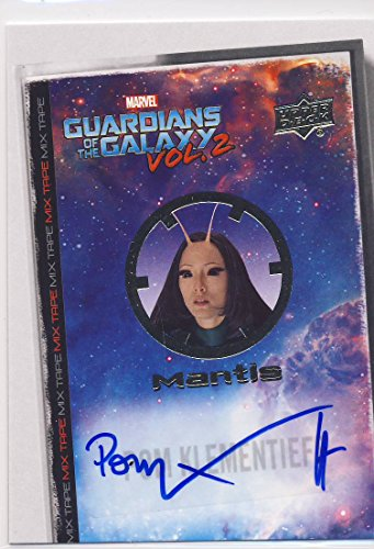 2017 Guardians of the Galaxy Series 2 Trading Card Set Autograph MT2 Pom Klementieff
