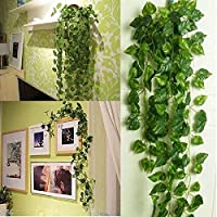 BS AMOR Artificial Creeper | Wall Hanging | Speacial Ocassion Decoration | Home Decor Party | Office | Festival Decorative | Length 6 Feet Pack of Strings