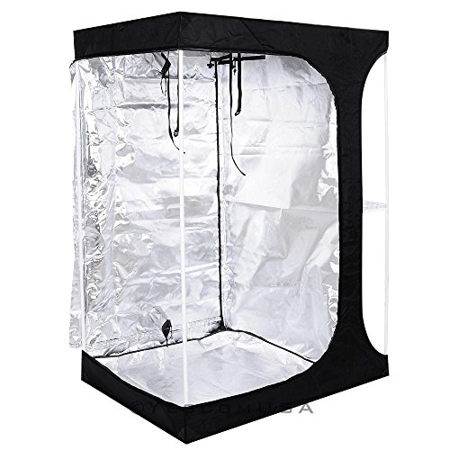 51A6BgAcvJL - 2-in-1 100% Reflective Mylar Hydroponics Indoor Grow Tent Propagation and Flower