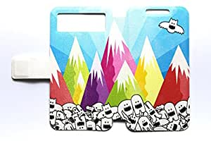 Universal Phone Cover Case for Spice Mi-500 Case Mountain