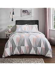 Sleepdown Komplet pościeli z pluszowego polaru z poszewką na poduszkę ciepła przytulna super miękka