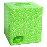 Surpass Boutique Facial Tissue Cube (21320), 2-Ply, White, Unscented, 110 Face Tissue / Box, 36 Boxes / Case