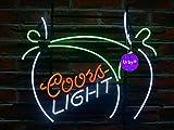 Urby® 24''x20'' Larger Coors Light Bikini Girl Beer Bar Neon Sign 3-Year Warranty-Best Choice!