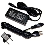 HQRP Fast Battery Charger for Razor E100 13111263 13111264, E125 13111110 Electric Scooter, AC Adapter Power Supply Cord + Euro Plug Adapter