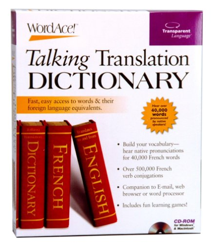 French WordAce! Talking Translation Dictionary (Transparent Language French Dictionary)