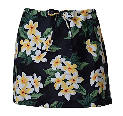 Private Island Hawaii Women UV Rash Guard Cover Ups Swimwear Skirts Beachwear Yoga (XL, HBP)