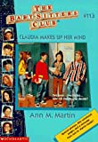 Claudia Makes Up Her Mind (Baby-Sitters Club)