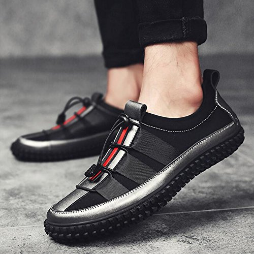 Sneakers Mens Shoes Iron gray Shoes Casual Fashion Low Comfort HUAN Driving Shoes Top ax0wxq