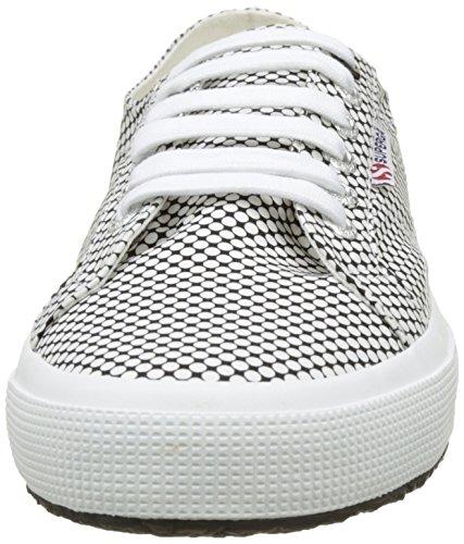 Bianco – Superga 2750 white fabricshirtu Black 924 optical Unisex Adulto Basse OI4YqI