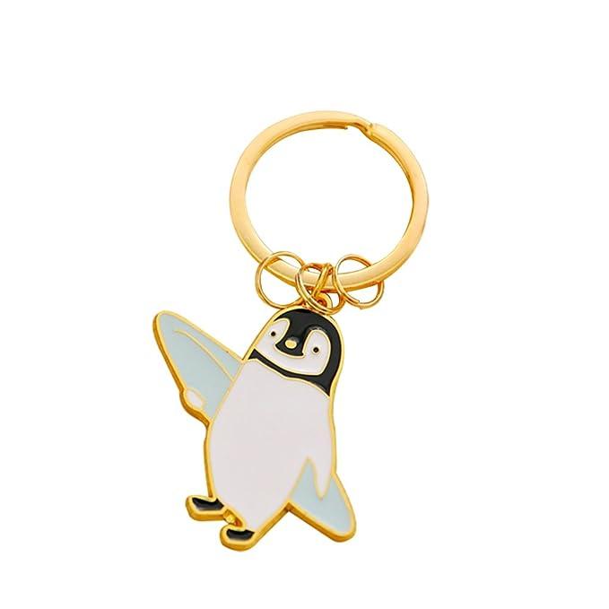 Wicemoon Llavero Pingüino de Dibujos Animados Para Niños ...