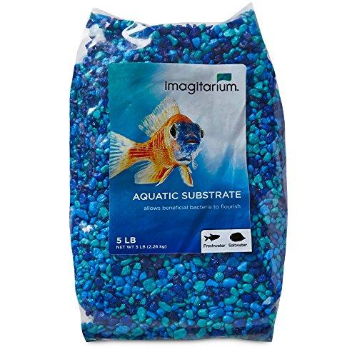 Imagitarium Blue Jean Aquarium Gravel, 5 lbs