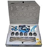 Street FX 1044660 ElectroPods Blue/Black Motorcycle Prokit