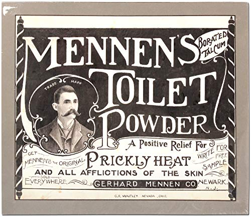 [Original Advertising Art]: Mennen