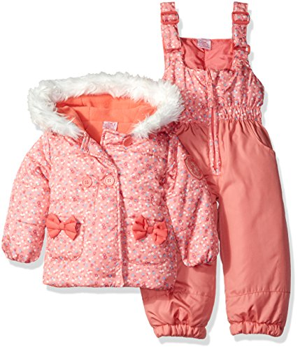 U.S. Polo Assn. Baby Girls' Snow Suit (More Styles Availa...