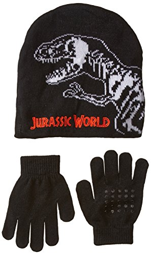 accessory-innovations-little-boys-jurassic-park-sharp-tooth-beanie-and-glove-multi-one-size