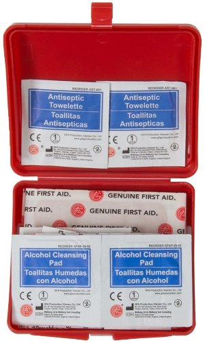 Amazon.com: Genuine First Aid Kit - 42 pcs - Hard Case: Health & Personal Care