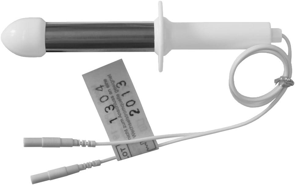 Sonda rectal electroestimulación STIMPRO 19 - Para electroestimuladores TENS EMS conexión clavija 2mm -Electroestimulación rectal - Calidad axion