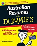 img - for Australian Resumes For Dummies by Amanda McCarthy (2011-09-19) book / textbook / text book