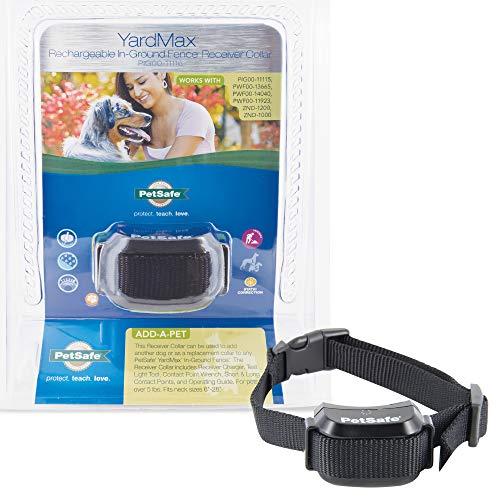 PetSafe YardMax Rechargeable In-Ground Fence for Dogs and Cats – from the Parent Company of INVISIBLE FENCE Brand…