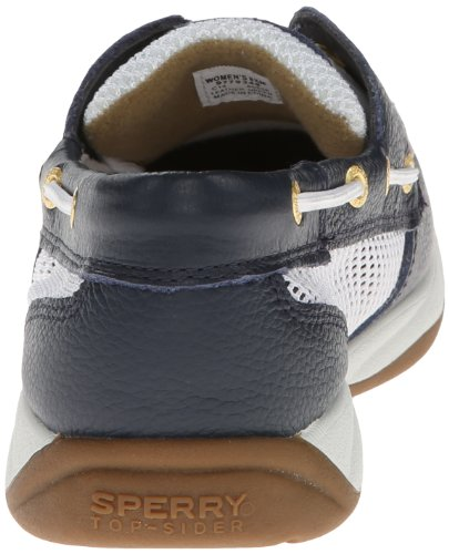 Women's Intrepid Navy White Sider Top Sperry qfxE88