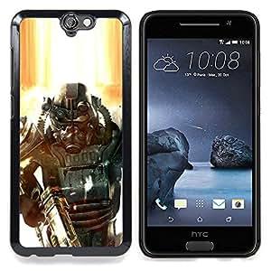 - Fall0out Soldier - - Cubierta del caso de impacto con el patr??n Art Designs FOR HTC ONE A9 Queen Pattern