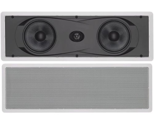 Yamaha NS-IW760 6.5 2-Way In-Wall Speaker System (White) [並行輸入品]   B074XP8HQM