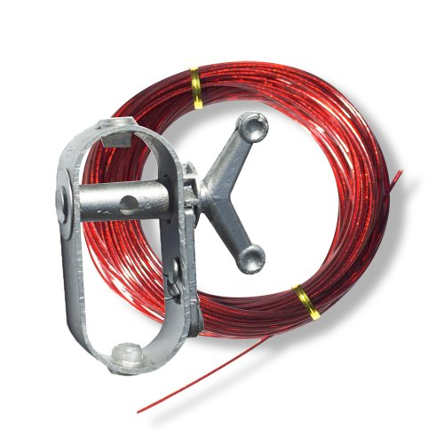 Robelle 100CW 100-Feet Cable and Heavy-Duty Winch for Securing Above Ground Pool Covers by Robelle