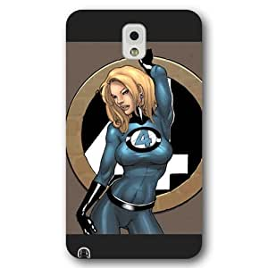 UniqueBox Customized Marvel Series Case for Samsung Galaxy Note 3, Marvel Comic Hero Invisible Woman Samsung Galaxy Note 3 Case, Only Fit for Samsung Galaxy Note 3 (Black Frosted Case)