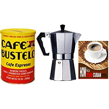 Amazon Com Bustelo Cuban Coffee 10 Oz Can And 3 Cup