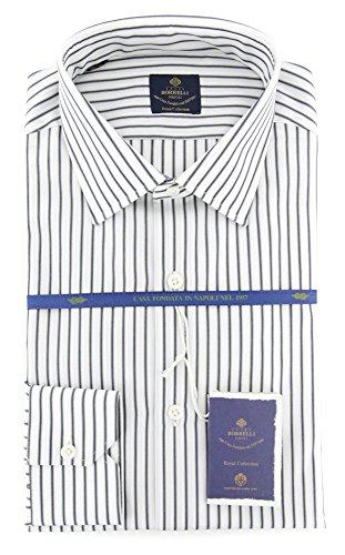 new-luigi-borrelli-gray-striped-extra-slim-shirt