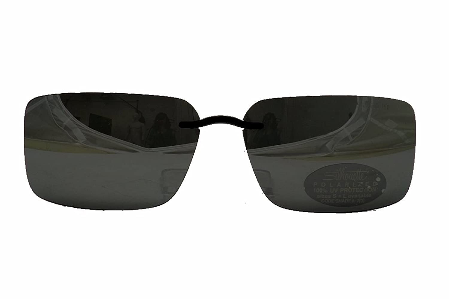 7b23ddef26 delicate Silhouette Sunglasses Clip-On 5090 A1 0301 Polarized Gray ...