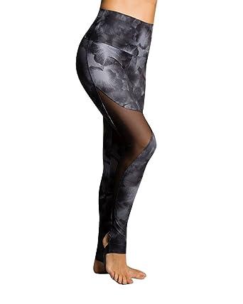 66f0143c54 Amazon.com: Onzie Yoga Stirrup Legging 2007 Petunia: Clothing