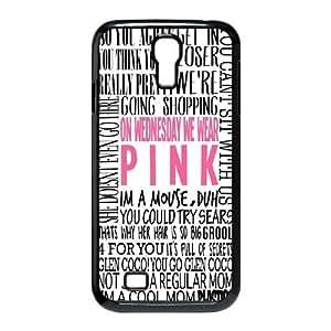 Steve-Brady Phone case Burn Book - Mean Girls For SamSung Galaxy S4 Case Pattern-4 by runtopwell