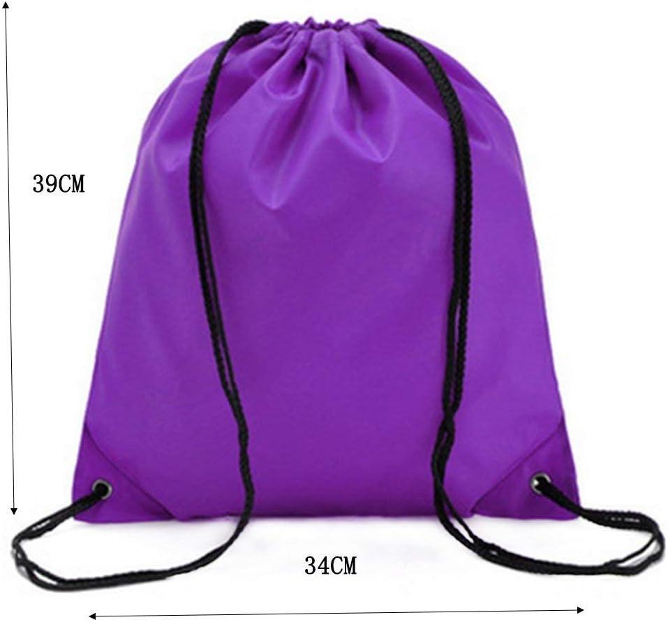 Noir /école Wdoit 1 sac /à dos Oxford imperm/éable pour sport /étudiant Red Tissu Oxford 35 x 39 cm