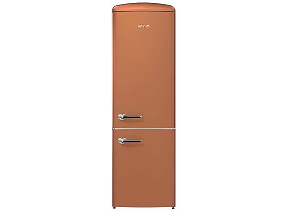 Retro Kühlschrank 180 Cm : Gorenje ork 193 cr stand kühl gefrier kombination copper braun