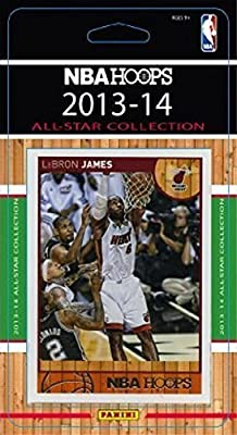 2013 2014 Hoops NBA All Stars Collection Special Edition Factory Sealed Basketball Set Lebron James, Durant and More