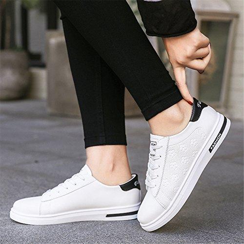 Viaggio Un Comfort Up Primavera Merletto Outdoor da Scarpe Casual Sneakers Calzature Bianca Bianco Donna Lace XUE Scarpe Nero Autunno da PU da Polvere wBacxqv