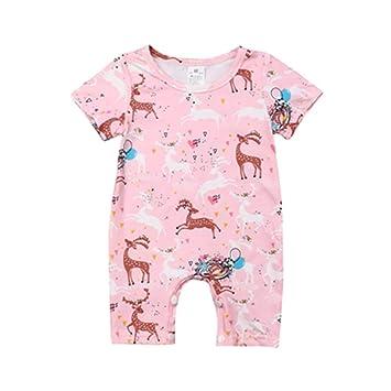 Amazon.com: Mono de algodón para bebés y niños, de manga ...