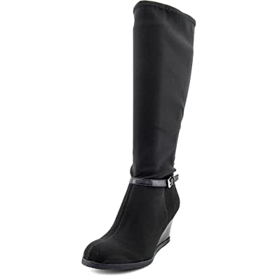 Amazon.com   Ralph Lauren Tula Tall Wedge Boots - Womens   Knee-High