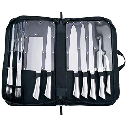 Slitzer 10pc Professional Stainless Steel Cutlery Set ()