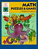 img - for Math Puzzles & Games: A Workbook for Ages 6-8 (Gifted & Talented) book / textbook / text book