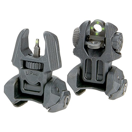 Meprolight Front and Rear Flip-up Sights with Tritium, 4 Rear Dots by Meprolight