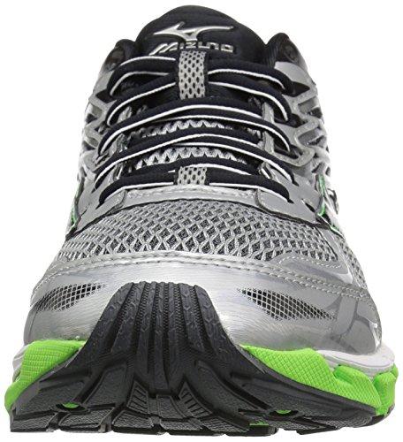 Men's Grey 3 Wave Shoe Paradox Mizuno Green Running faA4nAg