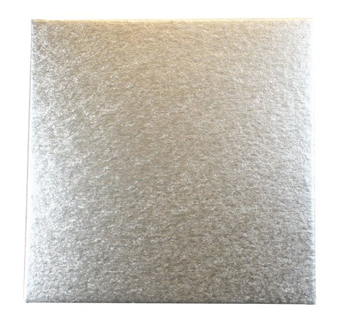 Culpitt Cut-Edge Board 14 inch Square Cake Decorating Support Card 1.8mm X 10