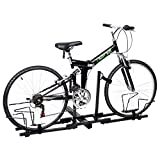 """New Upright 2 Mountain Bike Rack Hitch Carrier 2"""" Rear for SUV Van"""