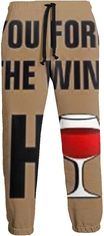 Si Olvida el Vino, Vaya a casa Pantalones de chándal para Hombre ...