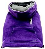 Dogit Mock-Neck Dog Hoodie, Large, Purple, My Pet Supplies